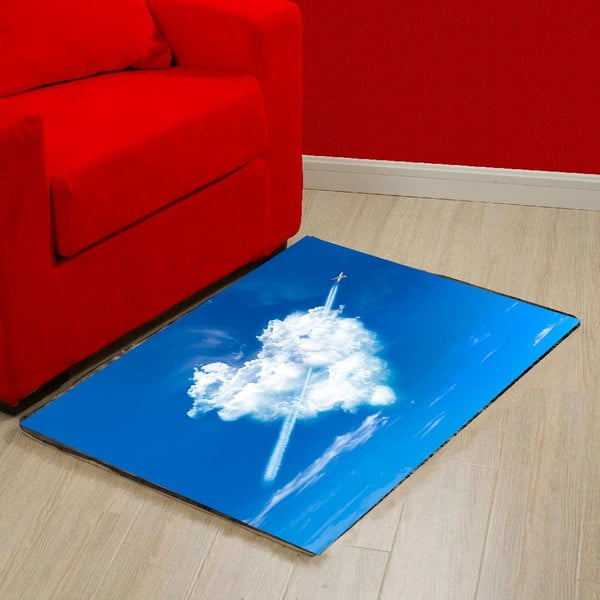 Vinylový koberec Fly, 52x75 cm