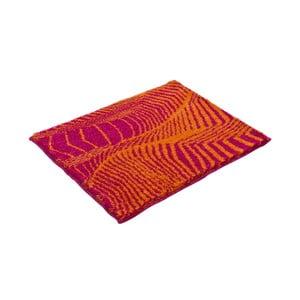 Kúpeľňová predložka Kolor My World XIII 50x65 cm, pomarančová