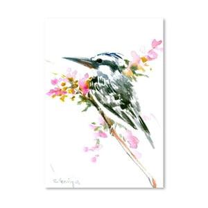 Autorský plagát Kingfisher od Surena Nersisyana, 42×30cm