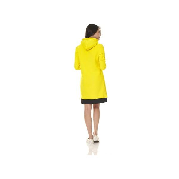 Dlhá domáca mikina Streetfly Yellow, veľ. L
