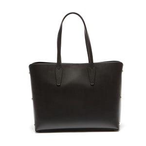 Čierna kožená kabelka Sofia Cardoni Amelia