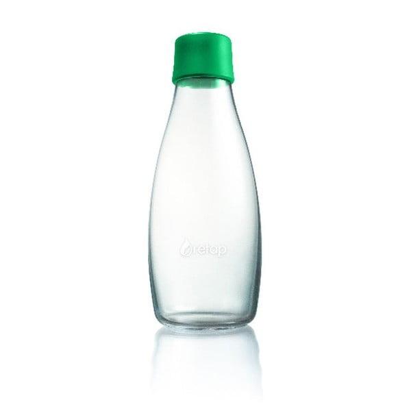 Sýtozelená sklenená fľaša ReTap s doživotnou zárukou, 500ml