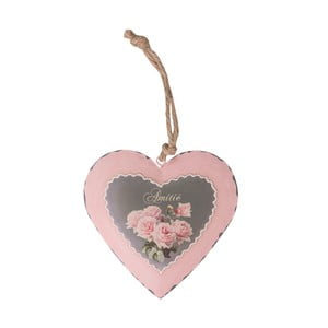 Závesná kovová dekorácia Antic Line Love