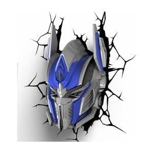Nástenné svetlo s nálepkou Tnet Transformers Optimus Prime
