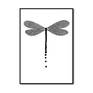 Autorský plagát Dragonfly, A4