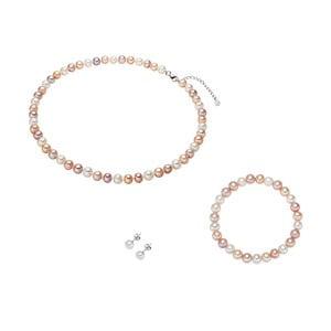 Set perlového náhrdelníku s náramkom Nova Pearls Copenhagen Camille