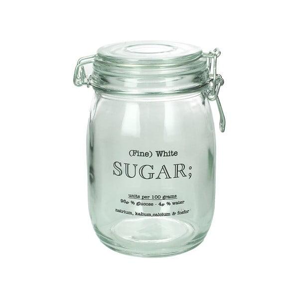 Sklenená dóza na cukor Sugar