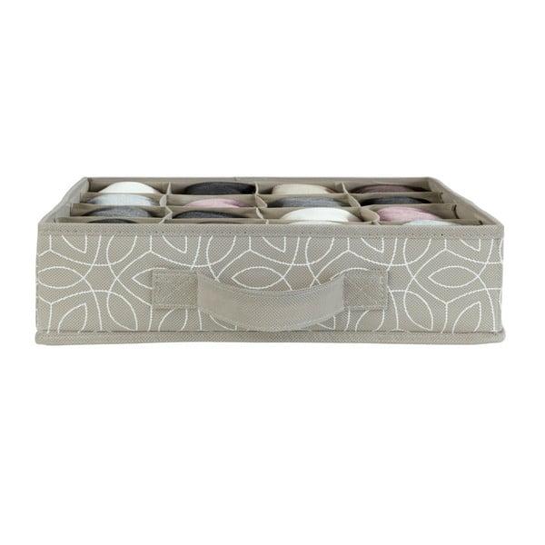Béžový úložný box do zásuvky Wenko Balance