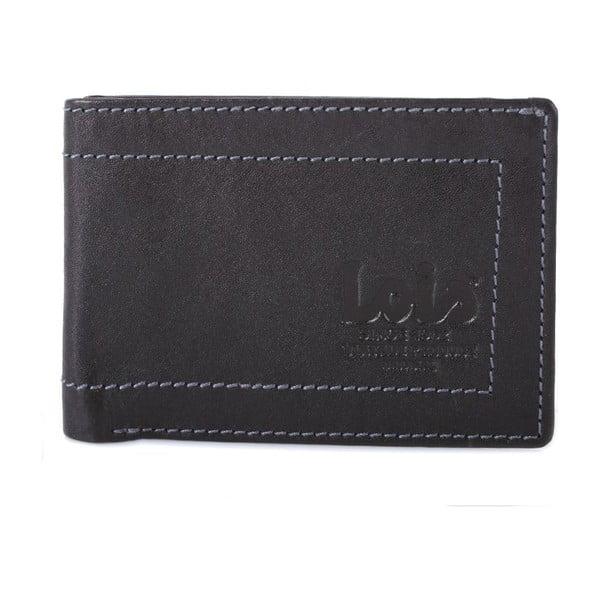 Kožená peňaženka Lois Black, 10x7 cm