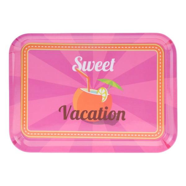 3-dielna kempingová sada riadu Postershop Sweet Vacation
