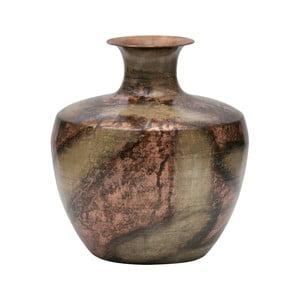 Dekoratívna váza z recyklovaného kovu BePureHome, ø 30 cm