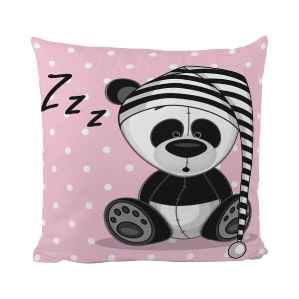 Vankúš Sleepy Panda, 50x50 cm