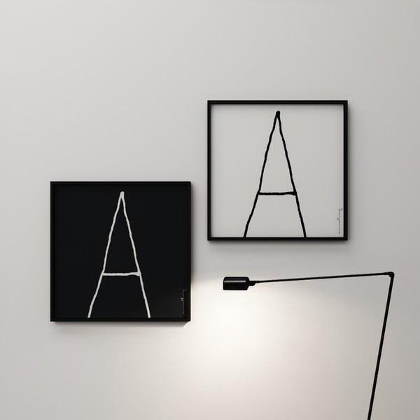 Plagát Litera A, 50x50 cm