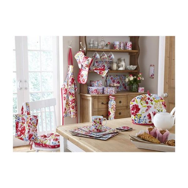 Plátená taška Cooksmart England Floral Romance Shopping