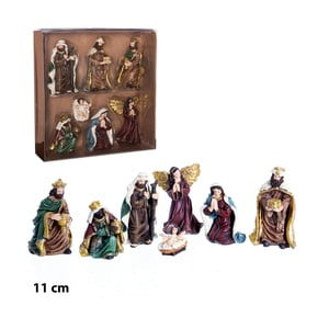 Sada 7 figúrok v krabičke Unimasa Bethlehem Birth