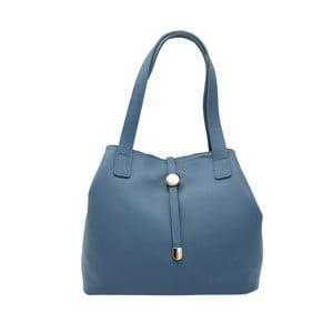Modrá kabelka z pravej kože Andrea Cardone Matteo