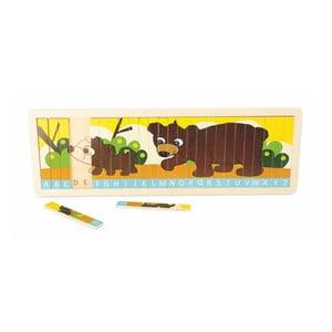 Drevená hračka Legler Family of Bears