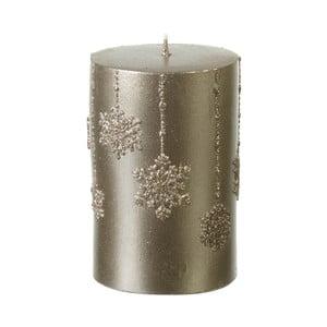 Zlatá sviečka Parlane Flakes, 10.5 cm