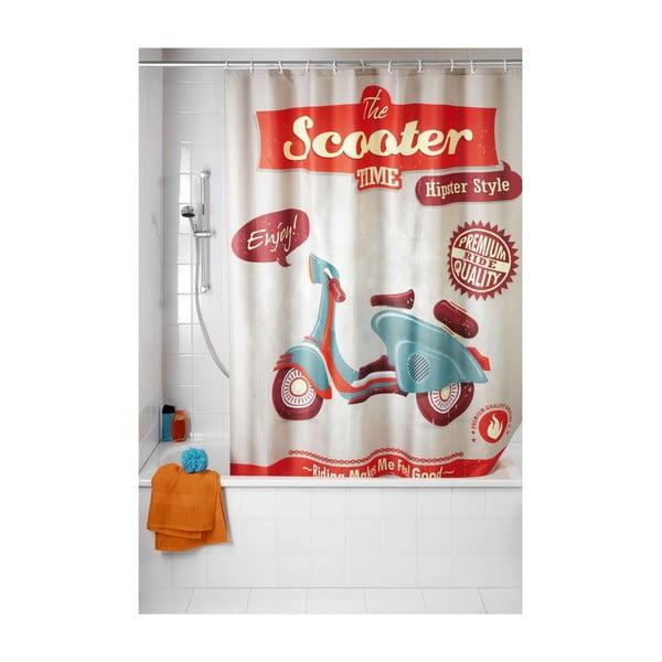 Retro sprchový záves Wenko Scooter