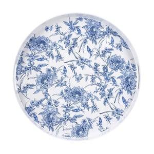 Podnos Ashdene Indigo Blue, ⌀35,5cm