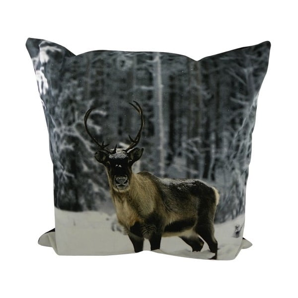 Vankúš Sepia Reindeer Nature 60x60 cm
