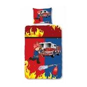 Detské obliečky Muller Textiel FireFighter, 140x200 cm