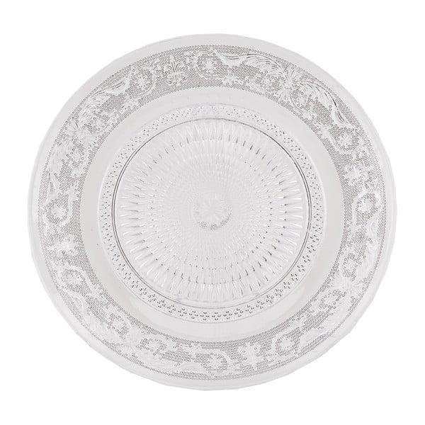 Sklenený tanier Clayre Eef, 23 cm