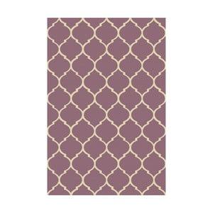Vinylový koberec  Reticular Marsala, 100x150 cm