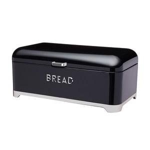 Čierna dóza na chlieb Kitchen Craft Lovello