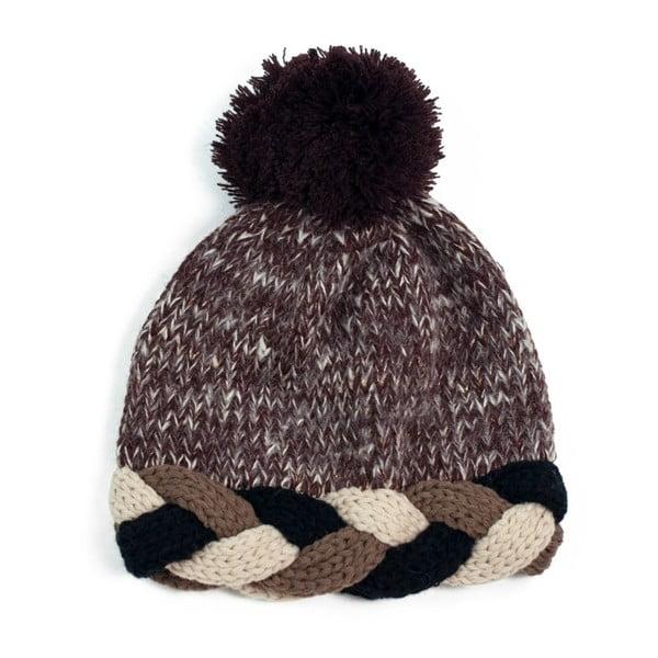 Hnedá čapica Elodie