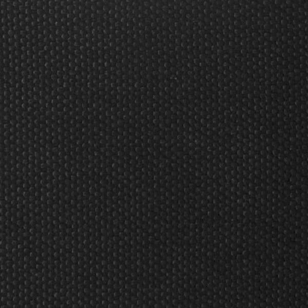 Trojmiestna pohovka Miura Musa, čierny textilný poťah
