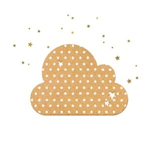 Dekoratívne samolepiace nástenka Dekornik Dots With Stars