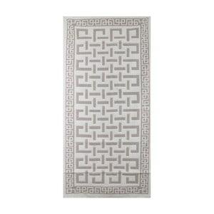 Svetlosivý koberec Jani, 140 x 200 cm