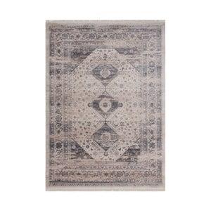Sivý vzorovaný koberec Kayoom Freely, 120 x 170 cm