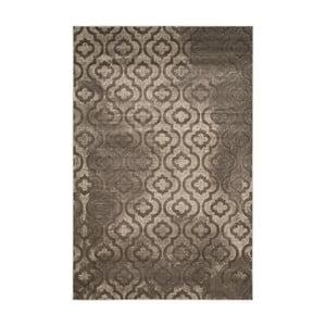 Sivý vysokoodolný koberec Floorita Evergreen, 124 x 183 cm