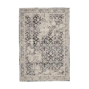 Sivý ženilkový koberec InArt Puente, 180 x 120 cm