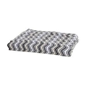 Pletený pléd Apolena Zig Zag, 130×170 cm