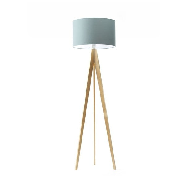 Stojacia lampa Artist Birch/Light Blue
