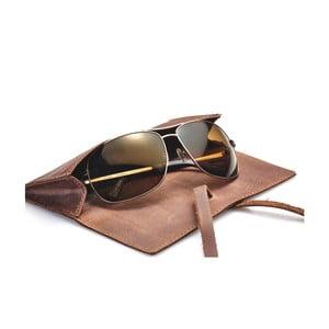 Kožené puzdro na okuliare/perá Packenger