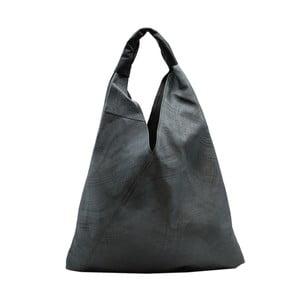 Tmavosivá kabelka z pravej kože Andrea Cardone Karma