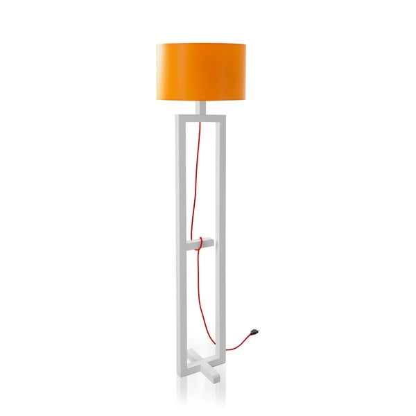 Stojacia lampa Orange White