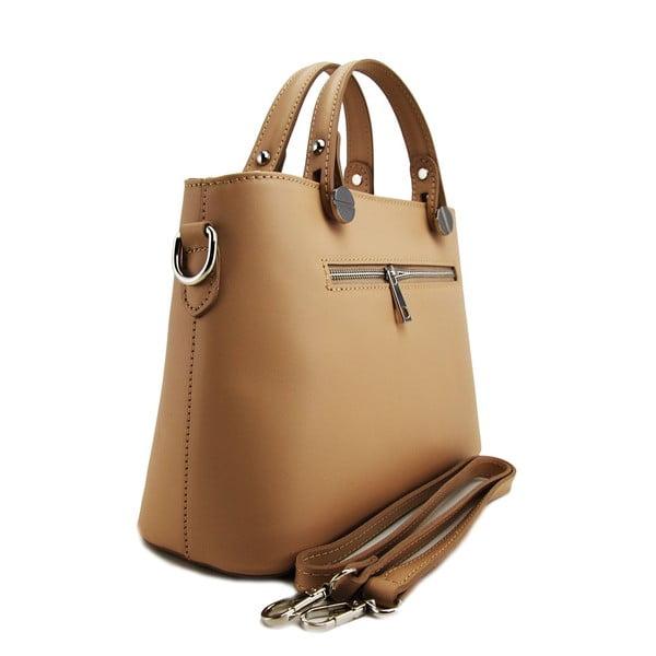 Kožená kabelka Adelaide Taupe