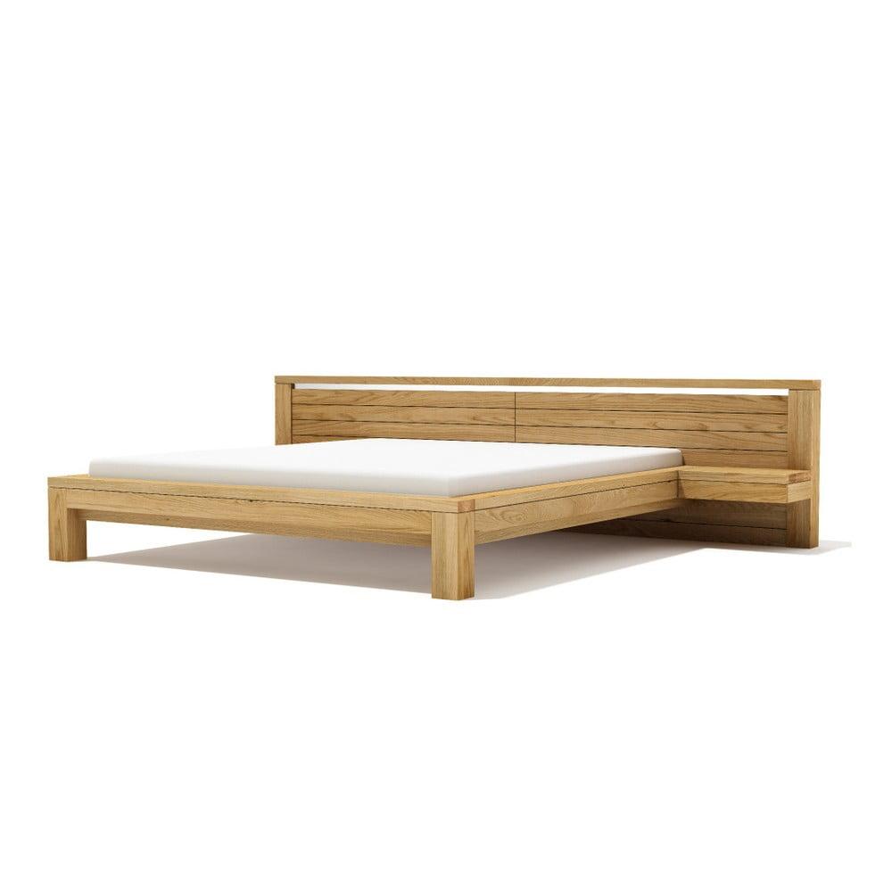 Posteľ z masívneho dubového dreva Javorina Next, 180 × 200 cm