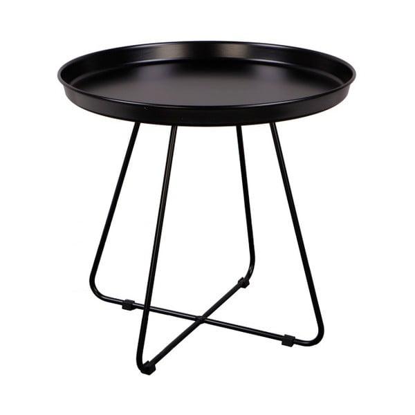 Čierny odkladací stolík Nørdifra El