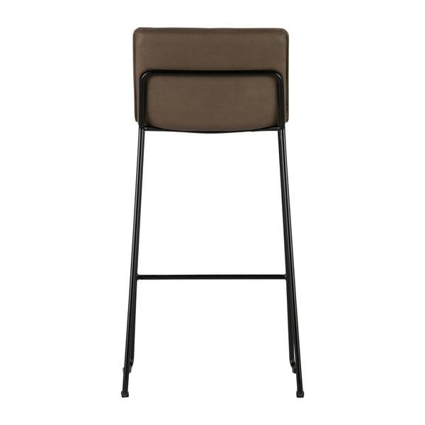 Sada 2 hnedých barových stoličiek De Eekhoorn Evan