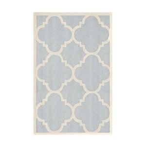 Vlnený koberec Clark Light, 152x243 cm