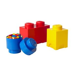 Sada 3 úložných boxov LEGO Multi-Pack