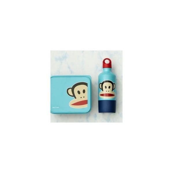 Desiatový box Paul Frank, modrý