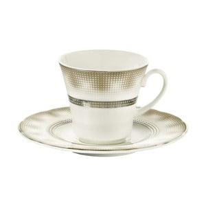 Sada 6 porcelánových šálok s tanierikom Kutahya Egypt, 50 ml