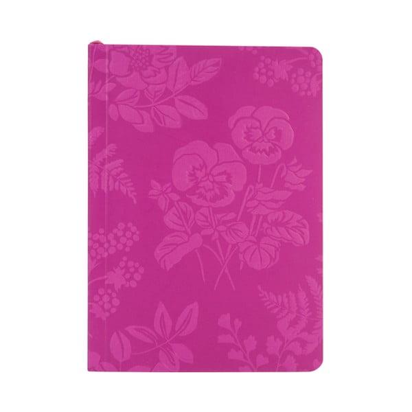 Linajkový zápisník A6 Laura Ashley Parma Violets by Portico Designs, 150stránok